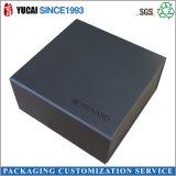 2017年の最近設計されていた黒いペーパーギフト用の箱包装ボックス