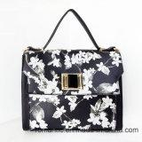 Sac d'impression de fleur de sacs à main d'unité centrale de dames de modèle de marque (LY060281)