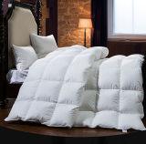 Comforter branco de enchimento do ganso da potência 750 para baixo para a HOME