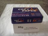 Papier de photocopie de papier de bureau de papier-copie de la pâte du bois 75GSM de la blancheur 95-97% A4