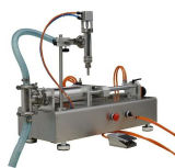 De semi Automatische Vuller van het Poeder, de Machine van de Etikettering, Verpakkende Machine, het Vullen Machine