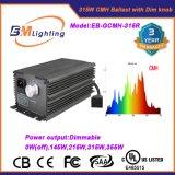 315 watts CMH/HPS élèvent le meilleur ballast électronique de nécessaire léger
