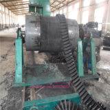 Cinta transportadora pared lateral de vulcanización Prensa / ondulado con bridas de cinturón que hace la máquina