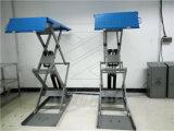 Dünn Scissor Aufzug mit 105mm auf Boden Typen