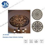 Los medallones de techo de acero inoxidable color del bronce del antioxidante