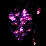 Романтичный свет шнура меди венчания украшения праздника - розовый кролик