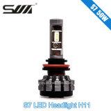 Intero indicatore luminoso dell'automobile del faro H11 LED dell'automobile di prezzi di vendita S7 LED