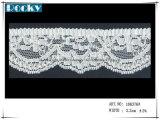 Testo fisso del merletto di Lycra degli accessori dello Spandex del merletto