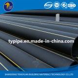 Трубопровод пластмассы полиэтилена высокой плотности газа высокого качества