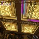 Способ и потолочное освещение золота Decoracive Squre с лоббиом