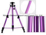 Base plegable telescópica de la visualización del artista de la pintura de la base colorida del artista para el soporte de la pintura y de la demostración