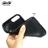 Geborstelde Steen 2 van Bling van de Streep in 1 Geval van de Telefoon voor S7 Rand iPhone6/7&Samsung