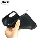 Aufgetragener Streifen Bling hybrider Telefon-Steinkasten für Rand Samsung-S7