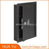 Versteckt im Wand-sicheren Schrank mit Digital-Verschluss und mechanischem Verschluss