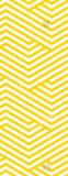 Estera impresa modelos geométricos amarillos de la yoga del Micro-Ante con el grandes apretón y absorbente