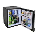 Estantes Ajustable del Hotel Refrigeración Minibar con Puerta de Cristal