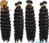 巻き毛の自然なブラジルのバージンの人間の毛髪の織り方