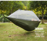 2017 Fashion Handy Parachute Hammock Fabric Mosquito Net Camping Hammock Single Person Portable Indoor Outdoor Camping Hangmat