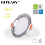 5W 3.5 pulgada 3CCT LED Downlight con las luces de la lámpara del techo de Ce&RoHS