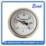 Todo el termómetro ajustable del puntero del termómetro del acero inoxidable - termómetro de Bimeter