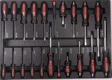 Комплект инструмента вагонетки 6 ящиков самый лучший продавая сверхмощный (FY249A1)