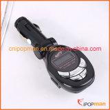 Kit del cargador del teléfono del transmisor de FM con el cargador del coche del jugador de MP3 del coche