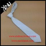 Cravate tissée par vente en gros d'affaires d'hommes de coton