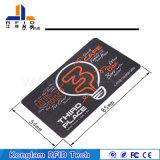Tarjeta elegante modificada para requisitos particulares OEM del PVC RFID