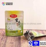 Sac zip-lock comique personnalisé d'empaquetage en plastique de thé de la catégorie comestible