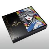 La mode et beaux personnalisent la caisse d'emballage cosmétique de papier de boîte-cadeau pour les cadeaux, le chocolat et d'autres substances