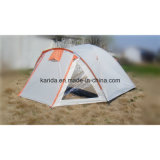 6 Personen Double Layers 3 Polen Camping Tent mit Extension