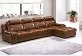 5 Sitzbrown-Farben-Wohnzimmer-Ecken-Leder-Sofa (HX-SL006)