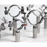 Sostenitore rotondo sanitario del tubo dell'acciaio inossidabile 304