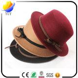 Sombrero hermoso y de la manera del invierno y sombrero algodonoso del sombrero y de los niños y el sombrero y el Casquette hechos punto lanas para los regalos promocionales