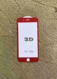 Caliente vendiendo 9h rojo templado protector de pantalla de cristal para iPhone7 / iPhone7 Plus