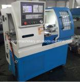 Tipo horizontal máquina del torno del CNC para el acero inoxidable
