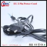 Cavo di alimentazione della spina di Pin dell'Ue 2 del cavo di Pin H03VV-F Powercord del cavo di estensione di potere 2
