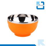 Inner-Muster-Wholesale bunte Kind-Edelstahl-Reis-Filterglocken und Plastikfilterglocken