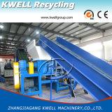 Línea de lavado de película de plástico / Línea de reciclaje de plástico PP PE