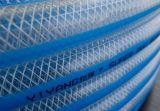 Boyau renforcé par tresse claire de PVC de Multiduty