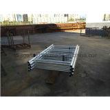 Bâti d'échafaudage d'échafaudage d'étayage de HDG pour la construction