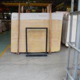 Lastre di marmo dorate all'ingrosso/mattonelle di prezzi bassi per la decorazione del pavimento e della parete