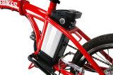 Портативный миниый электрический складывая велосипед