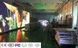 Visualización de LED al aire libre publicitaria confiable confiada del grado P10 del resto