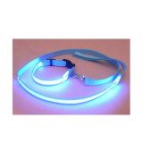 Guinzaglio di nylon infiammante del cane di illuminazione di alta visibilità LED