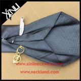 Jacquard Handmade do luxo 100% do Mens gravata tecida da seda de 7 dobras