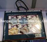 極度の柔らかい洗濯できる多サテンの寝具の一定のシーツセット