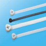 Standarddehnfestigkeit-Nylonkabelbinder mit Edelstahl-Einlegearbeit