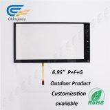 """6.95 de """" pantalla táctil infrarroja resistente del recubrimiento 4 alambres"""