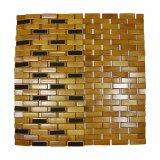 Stuoia di bambù naturale della vasca da bagno del blocco per la stanza da bagno & la pavimentazione